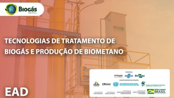 Tecnologias de Tratamento de Biogás e Produção de Biometano